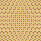Tea abstract vector seamless pattern with swatch — 图库矢量图片