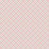 Sweet cute vector seamless pattern. Pink and blue shabby color — Vector de stock