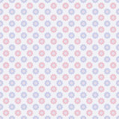 Nice vector seamless pattern. Sweet red, blue and white — Stock Vector