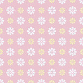Nice vector seamless pattern. Sweet pink, white — Stock Vector