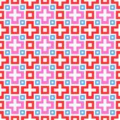 Abstract vivid seamless pattern. Vector illustration — Stock Vector