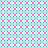 Resumen de patrones sin fisuras vivos. ilustración vectorial — Vector de stock