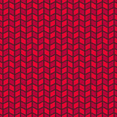 Passionate vector seamless pattern. Hot red color — Stock Vector