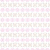 Light summer vector seamless pattern. Fond pink, white — Stock Vector