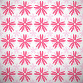 Light summer vector pattern. Fond pink and white colors — Stock Vector
