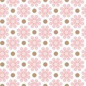 Delicate lovely vector seamless pattern — Stock Vector