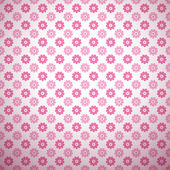 Cute abstract floral bright pattern. Vector — Stock Vector