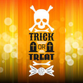 Halloween party poster. Typography letters font type — Stock Vector