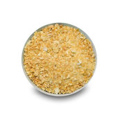 Onion granule — Stock Photo