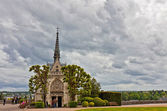 Amboise, church in the castle's gardens — Stock Photo