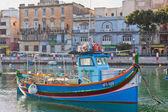 A Maltese Luzzu — Stock Photo