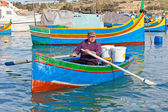 Malta - Marsaxlockk — Stock Photo