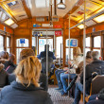 Lisbon tram — Stock Photo #27877215