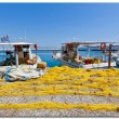 Crete, Agia Galini fishing boats — Stock Photo