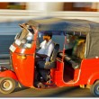 Tuk-tuk minicabs  in Sri Lanka. — Stock Photo
