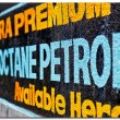 Stock Photo: Description of petrol