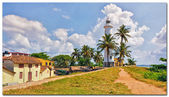 Lighthouse, Galle City, Sri Lanka — Stock Photo