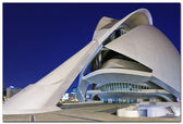 """Museum,""""ciudad de las artes y las ciencias"""".Valencia,Spain — Stock Photo"""