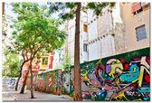 Graffiti in Valencia, Spain — Stock Photo