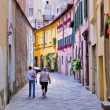 Stock Photo: Street in Lucca, Italy