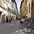 Street in Lucca, Italy — Stock Photo