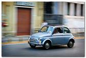 Car motion — Stock Photo