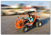 Desert sand buggy — Stock Photo