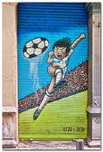 Football player — Stock Photo