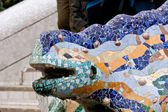 Mosaic dragon — Stock Photo