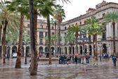 Spain plaza — Stock Photo
