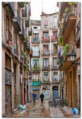 Street of Barcelona — Stock Photo
