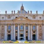Basilica di San Pietro, Vatican, Rome, Italy — Stock Photo #37435299