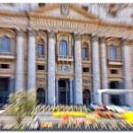 Basilica di San Pietro, Vatican, Rome, Italy — Stock Photo #37435427