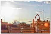 ρωμαϊκή στέγες — Stockfoto