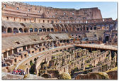 View of Rome, Italy - Coliseum. — Stock Photo