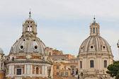Church in traiano forum — Stock Photo