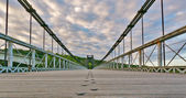 Köprü'den yola — Stok fotoğraf