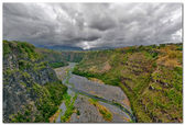 Reunion Island, Ravine des Cabris — Stock Photo