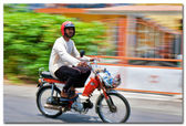 Transport. blur effect — Stock Photo