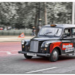 Stock Photo: London cab