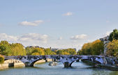 Paris bridge — Stock Photo