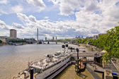 The city on the Thames — Stock Photo