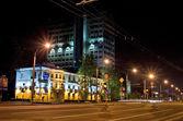 Street at night — Stock Photo