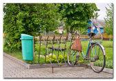 Bisiklet park yeri — Stok fotoğraf