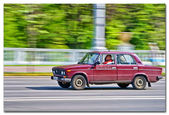 Car blur motion — Stockfoto