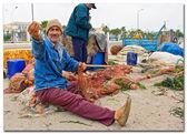 Tunisia - Fisherman — Stock Photo