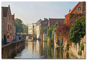 Belgium, Bruges — Stock Photo
