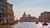 Sunny day on Grand Canal — Stock Photo