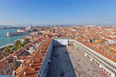 Venice from the St Marks Campanile — Stock Photo