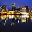 Stock Photo: Beautiful Panoramic View of Portland